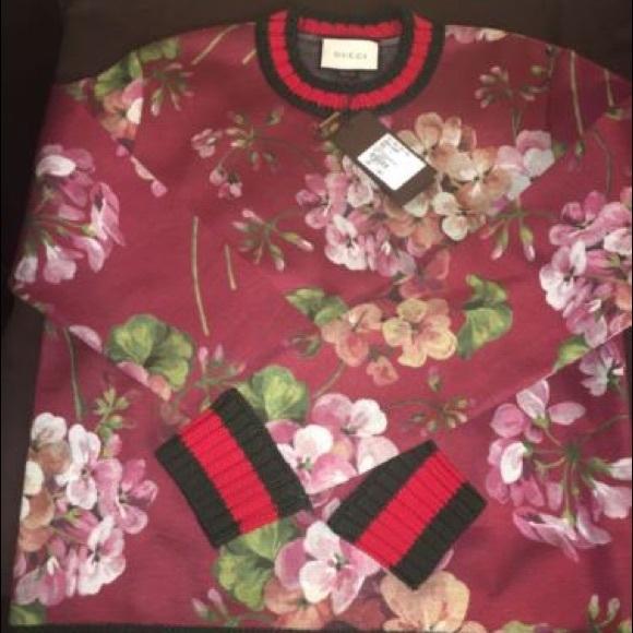 34612bffb Gucci Sweaters | Mens Bloom Sweater Xl | Poshmark